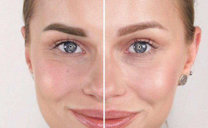 آرایش دائم صورت زنانه
